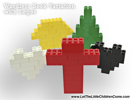 The Lego Wordless Book Teaches The Gospel To Children - Life Purpose
